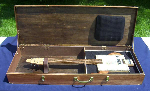 Ted Crocker Custom USA Guitars Cigar Box Guitar