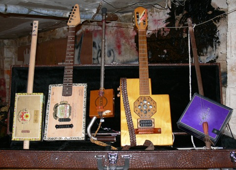Ted Crocker USA Guitars Cigar Box Guitars