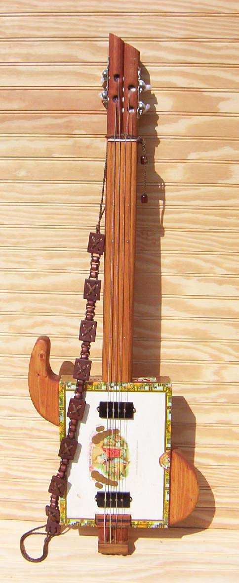 Ted Crocker USA Custom Guitars Cigar Box Guitar