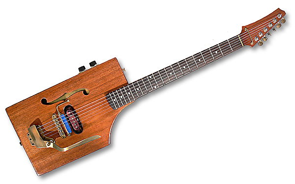 Ted Crocker Custom Guitars Edison Volt